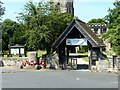 SK3027 : Lychgate, St Wystan's Church, Repton by Alan Murray-Rust