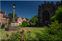 SK3616 : St Helen's Church, Ashby by Oliver Mills