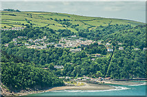 SS7249 : Lynmouth and Lynton by Ian Capper