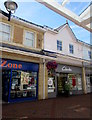 ST1587 : Clarks shoe shop in Castle Court Shopping Centre, Caerphilly by Jaggery