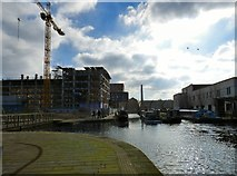 SJ8598 : New Islington Marina by Gerald England