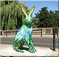 TG2309 : GoGoHares - the Green Moss Lane Hare by Evelyn Simak