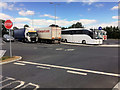 S6559 : Paulstown Services Lorry Park by David Dixon
