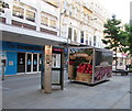 ST3187 : BT phonebox and The Fruit Machine, Commercial Street, Newport by Jaggery
