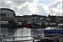 SX4854 : Trawlers, Sutton Harbour by N Chadwick