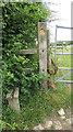 ST1574 : Stile beside gate on Cock Hill by Derek Harper