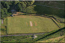 SS7049 : Lynton and Lynmouth Cricket Club  by Ian Capper