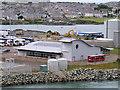 SH2583 : Passenger Terminal Building, Holyhead by David Dixon
