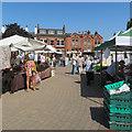 SK4641 : Ilkeston market by John Sutton
