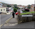 SY3492 : Unique street name sign, Coppers Knapp, Lyme Regis by Jaggery