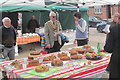 SP9211 : Judging the Apple Cakes at Tring Farmers Market by Chris Reynolds