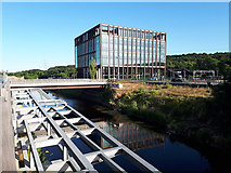 SE2436 : Kirkstall Forge development - steel decking and offices by Stephen Craven