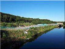 SE2436 : Kirkstall Forge development - unbuilt land by Stephen Craven