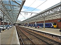 NS2982 : Arrival at Helensburgh Central Station by Roger Cornfoot