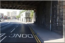 SE3320 : Kirkgate railway bridge by Mark Anderson