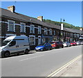 ST2490 : On-street parking, Commercial Street, Pontymister by Jaggery