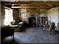 NH7076 : Inside Coag bothy by Julian Paren