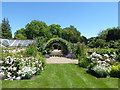 TQ9856 : Looking towards the pergola at Belmont House by Marathon