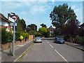 TQ2269 : Burdett Avenue, near Raynes Park by Malc McDonald