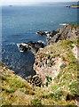 HU4638 : The southwestern tip of Ness of Sound by Andy Waddington