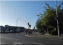 TR3967 : The Broadway at the junction of St Peters Road by David Howard