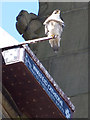 SE3320 : Wakefield cathedral - peregrine falcon by Stephen Craven