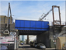 TQ3581 : Bridge over Caroline Street, Limehouse by Richard Rogerson