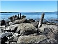 NS0460 : Old Jetty - Isle of Bute by Raibeart MacAoidh