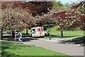 NT0887 : Ice cream van by Bill Kasman