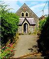SN3859 : St Llwchaiarn's Church Hall, New Quay by Jaggery