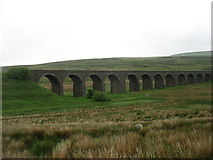 SD7992 : The Dandrymire viaduct, Garsdale by David Purchase