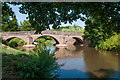 SO4520 : Bridge at Skenfrith by Stuart Wilding
