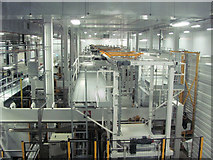SP8713 : The Bottle Making Plant in the Arla Factory at Aston Clinton by Chris Reynolds