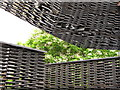 TQ2679 : Serpentine Gallery Pavilion 2018, wall & roof detail by David Hawgood