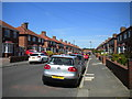 NZ3671 : St George's Road, Cullercoats by Richard Vince