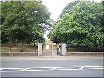 J0407 : The McSwiney Road entrance to the Ice House Hill Park, Dundalk by Eric Jones
