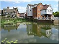 SO8832 : The classic view of Tewkesbury by Philip Halling