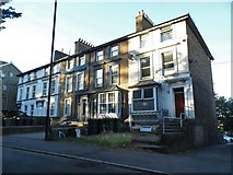 TQ7555 : Row of houses on Terrace Road, Maidstone by David Howard