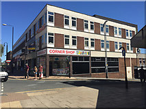 SE3320 : Corner of Westgate and Queen Street, Wakefield by Robin Stott