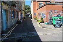 ST5038 : Hanover Square, Glastonbury by John C