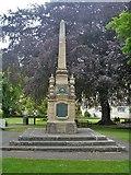 ST8260 : War memorial by Michael Dibb