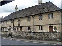ST8260 : Men's almshouses by Michael Dibb