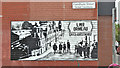 J3472 : Wall advertising, Farnham Street, Belfast (July 2018) by Albert Bridge