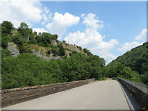 SK1172 : Monsal Trail: viaduct near Rusher Cutting by Gareth James