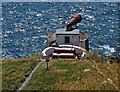 NX1530 : Mull of Galloway Foghorn by Neil Theasby