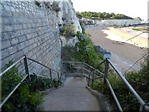 TR3968 : Steps down to Stone Bay by David Howard