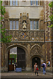 TL4458 : Great Gate, Trinity College, Cambridge by Christopher Hilton