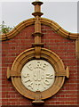 SO9422 : Fire Station 1906 roundel, St James Square, Cheltenham by Jaggery