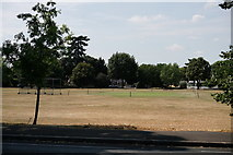 TQ1666 : Thames Ditton Cricket Club by Peter Trimming
