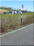 C9443 : Hexagonal paving blocks in the car park, Giant's Causeway by Humphrey Bolton